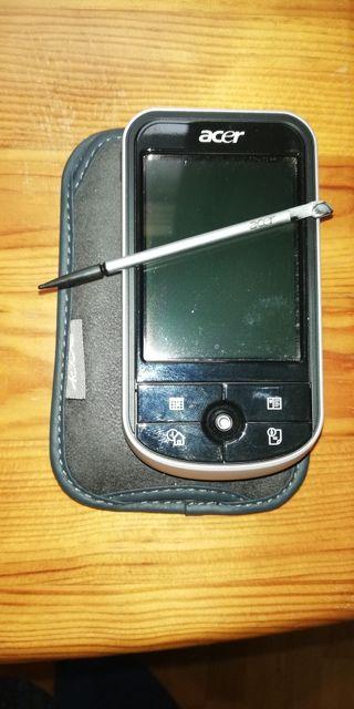 PDA Acer con función navegador TomTom. Prácticamen