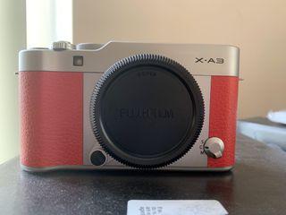 Fujifilm X-A3 Body Pink New