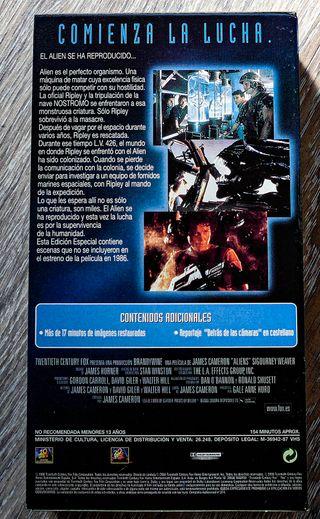 ALIEN - 4 VHS - ED. COLECCIONISTA 20 ANIVERSARIO