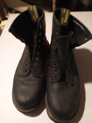 botas militares de piel número 42