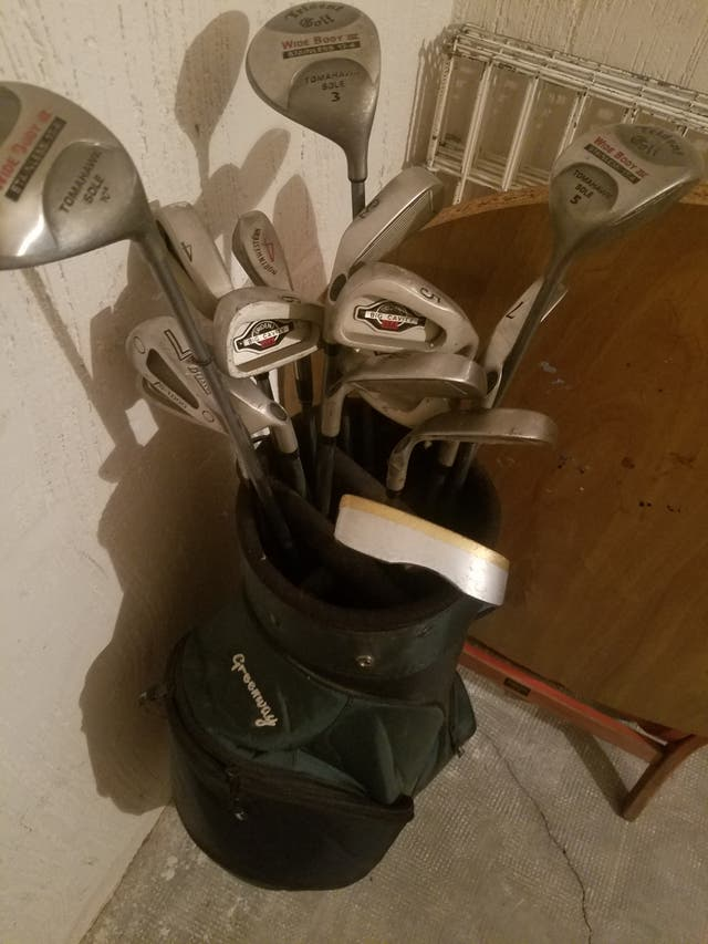 Palos de Golf Trident Big Cavity USA