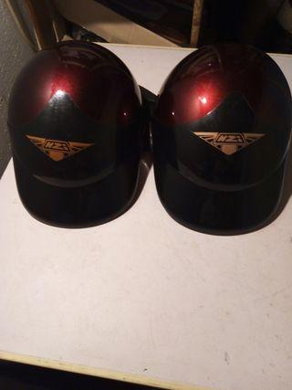 dos cascos para moto scooters nuevos