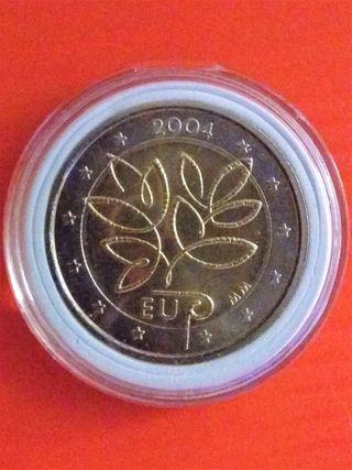 Monedas conmemorativa 2€ Finlandia 2004 y 2019