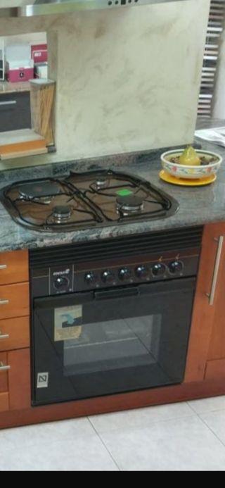 cocina de gas y electrica mas horno electrico