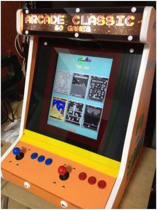 Máquina recreativa arcade bartop multijuegos