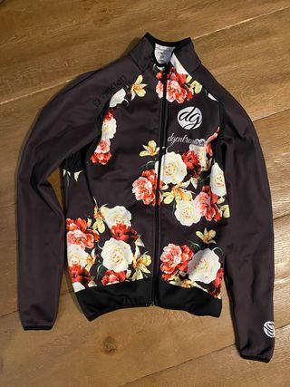 chaqueta térmica invierno ciclismo chica
