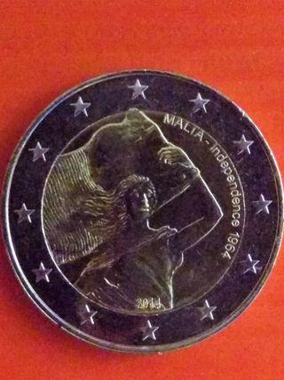 Moneda conmemorativa 2€ Malta 2014
