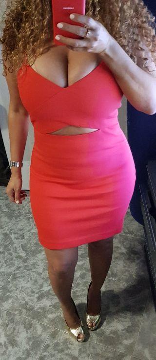 Vestido Elástico Zara