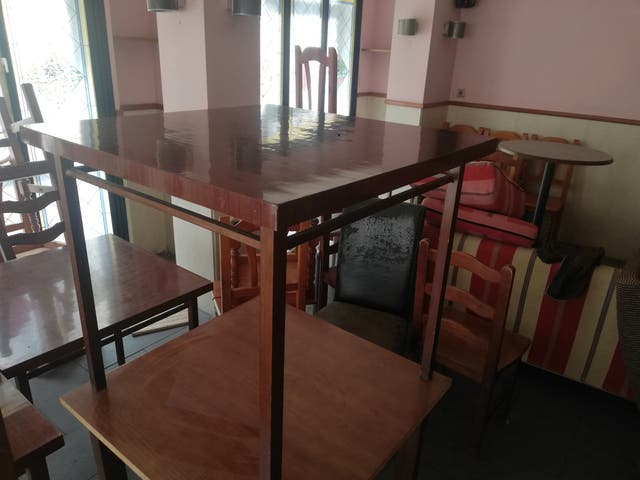 Mesas para restaurante.