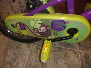 2 bicicletas niña ruedas 14
