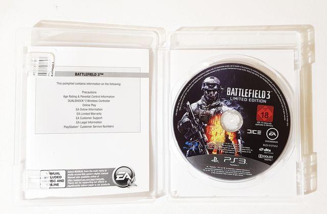 Juego PS3 Battlefield 3 Edición limitada