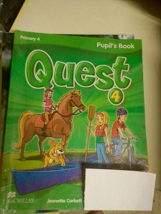 Libro inglés Quest 4