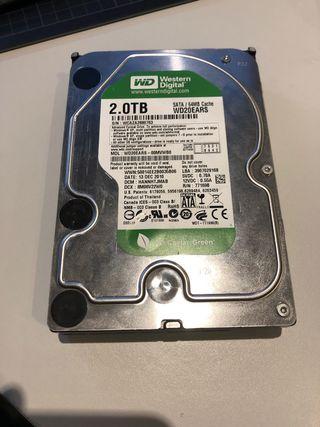 Disco Duro 2TB 7200K 64MB Cache