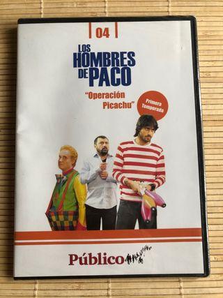 DVD Los hombres de Paco