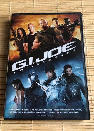 DVD Pelicula G.I. Joe La Venganza