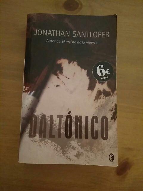 Daltónico De Jonathan Santlofer De Segunda Mano Por 5 En Blanes En Wallapop