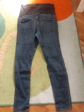pantalones vaqueros embarazada H&M talla 42
