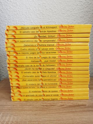 Coleccion libros de Gerónimo Stilton.
