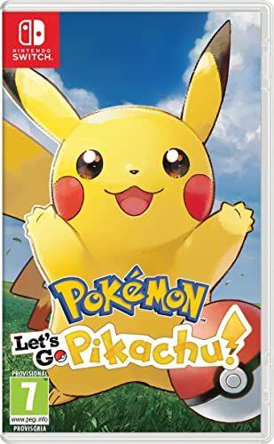 Juego Nintendo Switch Pokemon Let´s Go Pikachu