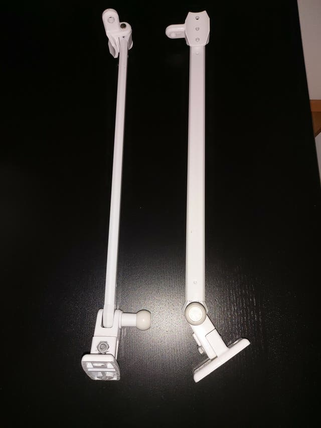 Brazos articulados de 45 cm para toldos