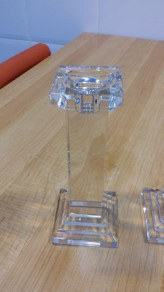 Candelabros de cristal