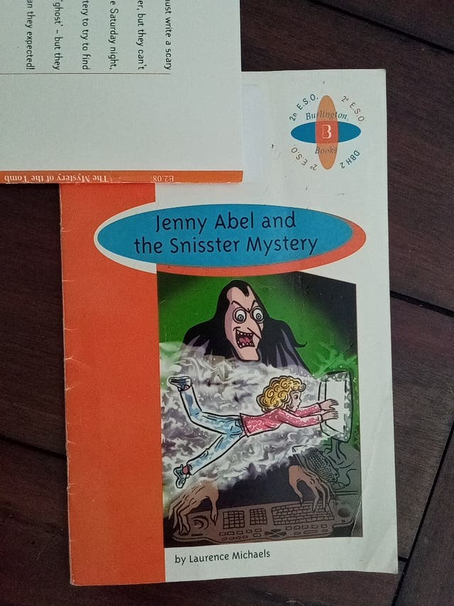 Jenny Abel and the snisster mystery