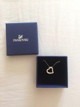 Collar corazon de Swarovski