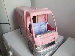 Autocaravana de la Barbie (Sin muñeca)