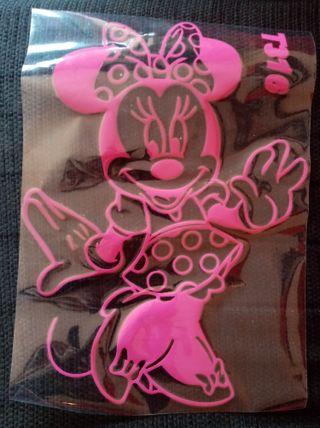 Minnie vinilo decorativo pared nuevo pegatina