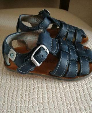 sandalias piel T19 Conguitos