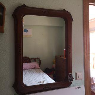 Espectacular espejo de pared