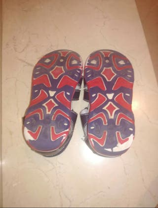 sandalias piel T29