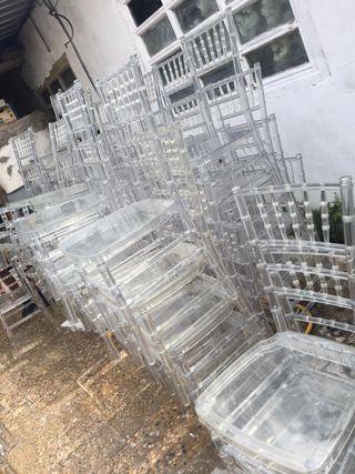 Sillas tiffany transparente