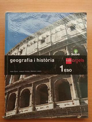 NUEVO!!! Libro Geografia i Historia 1 primero ESO.