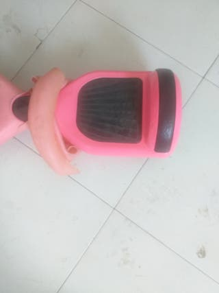 patin hoverboard,Rosa chicle.