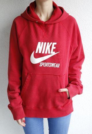 Sudadera Nike roja