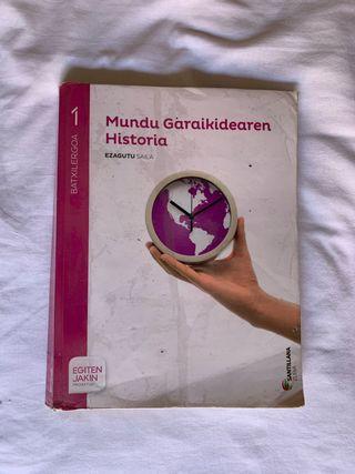 Libro historia en euskera