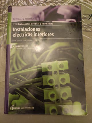 Libro de Instalaciones eléctricas de interiores.