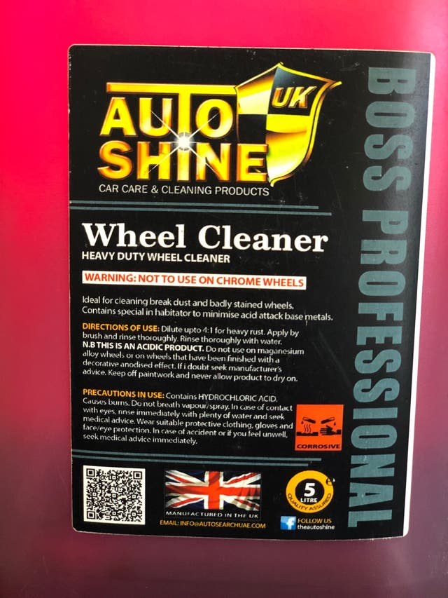 AutoShine Wheel/Alloy Cleaner 5L
