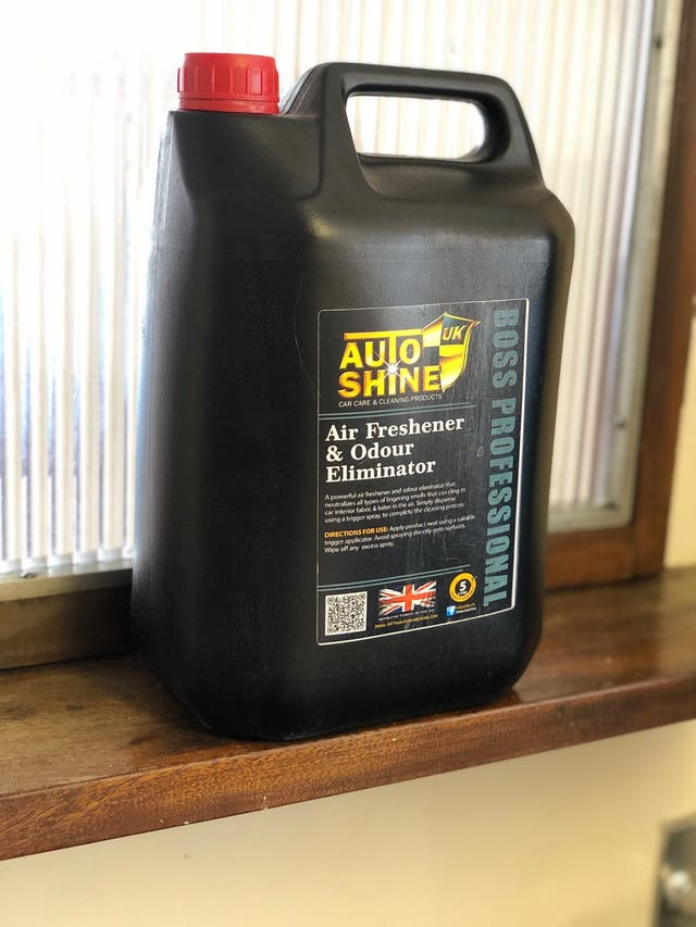 AutoShine Air Freshener/Odour Eliminator 5L