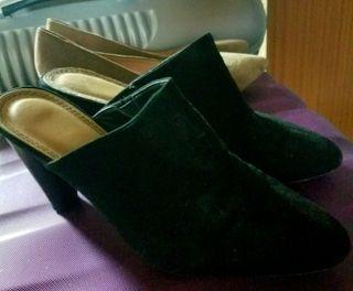 zapatos negros ante nuevos nunca usados numero 38