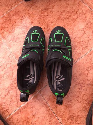 Zapatillas de ciclismo triatlon