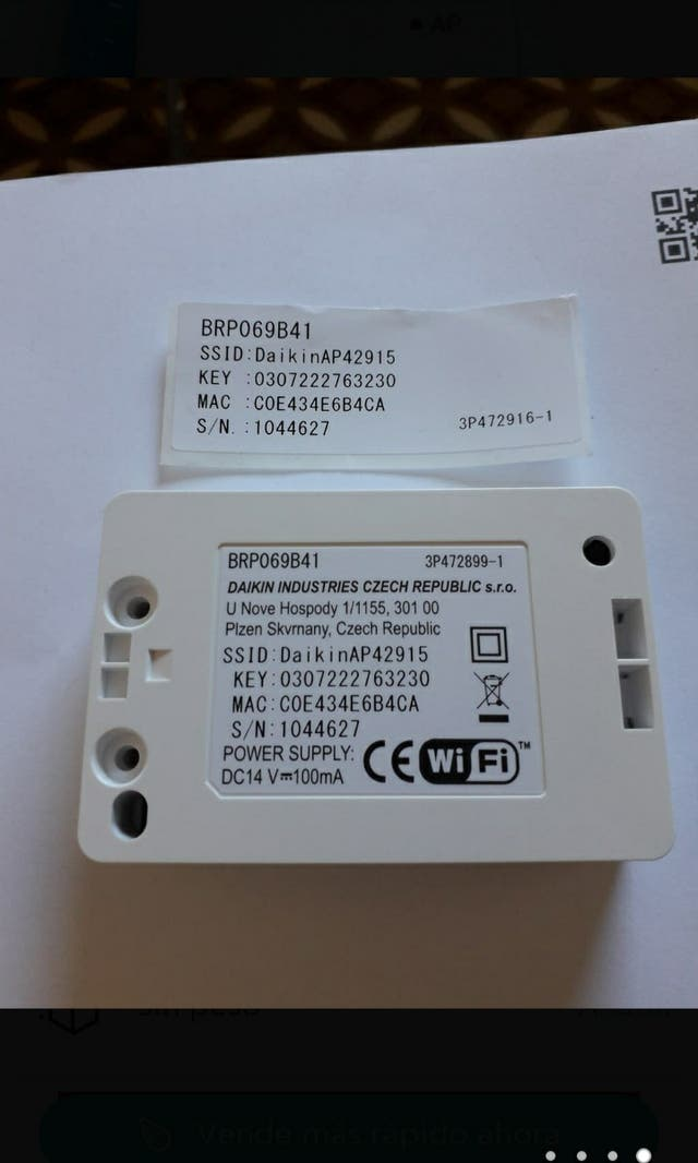control wifi daikin