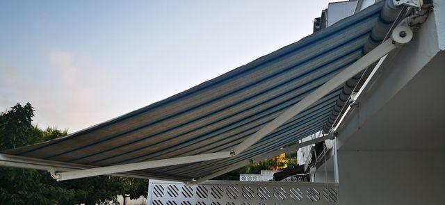 Toldo 3,85 metros terraza