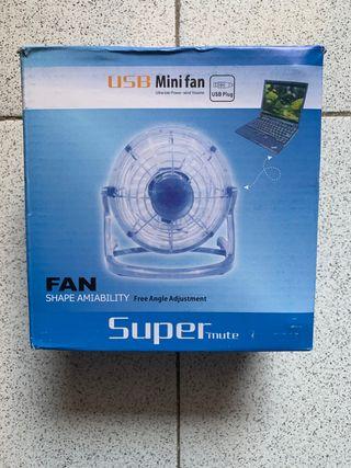 Ventilador USB portátil