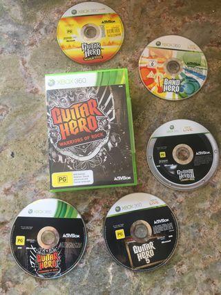 Juegos Xbox guitar hero
