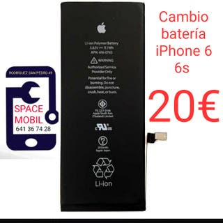 Cambio batería iPhone 6 y 6s