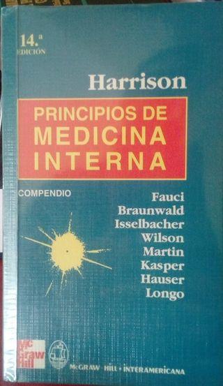 libros medicina interna, patología, harrison