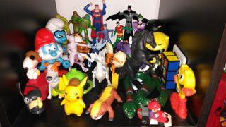juguetes pokemon, Batman,Superman, tortugas ninja,