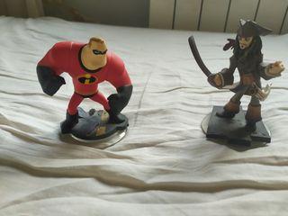 figuras del juego Disney Infinity Nintendo 3DS